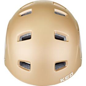 KED Risco Helm, gold star matte